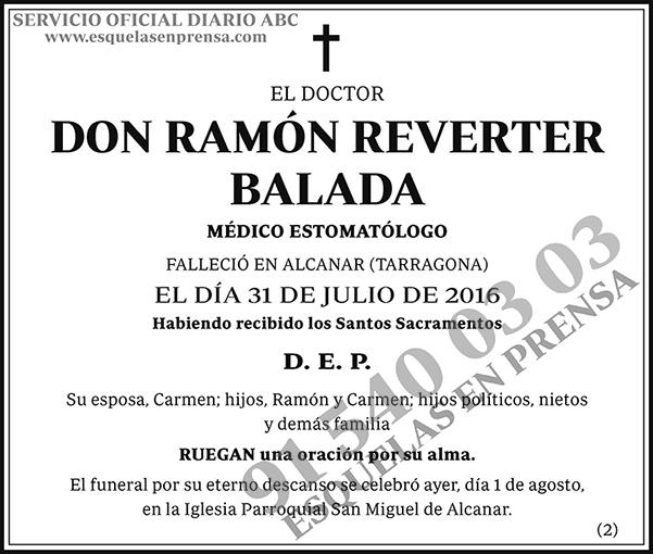 Ramón Reverter Balada